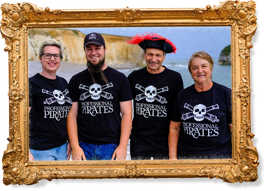 Not one Professional Pirate but four